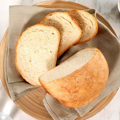 Pane Bianco con Crosta