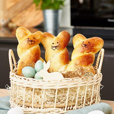 Brioche Easter Bunnies Recipe
