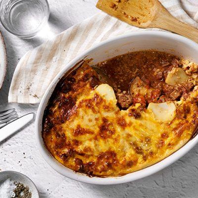 Recept voor moussaka