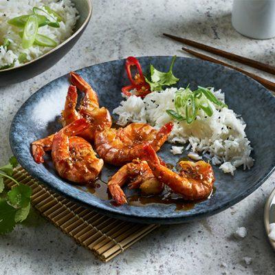 Recette de crevette à l'ail cuites à la vapeur, façon chinoise