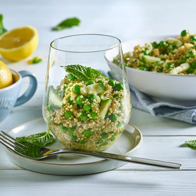 Quinoa con menta