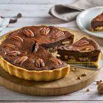 Chocolade-pecantaart recept