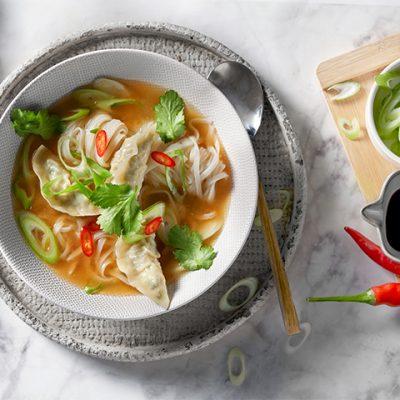 Gyoza Veg Bowl Recipe