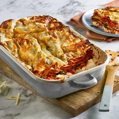 Spinach and Ricotta Lasagne Recipe