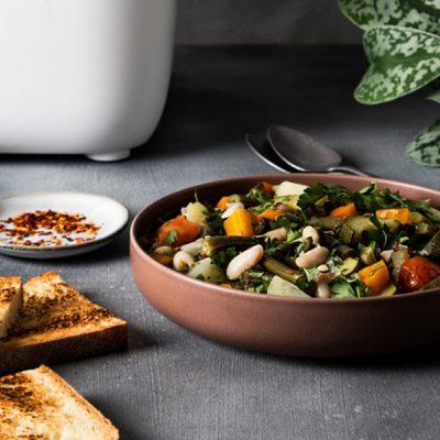 Recept voor minestrone met groenten