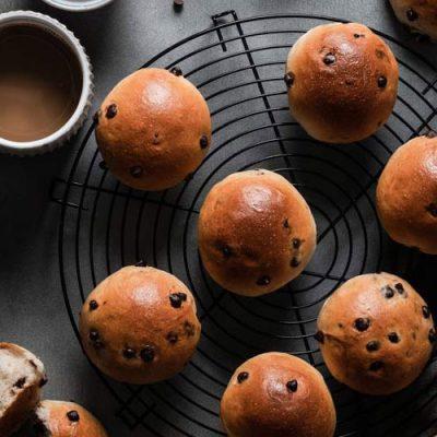 Recette de petits pains aux pépites de chocolat