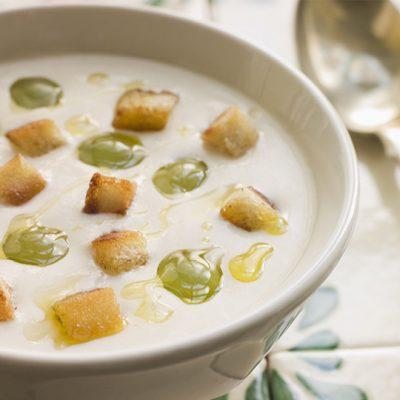 Ajo Blanco (Cold Almond Soup with Garlic) Recipe