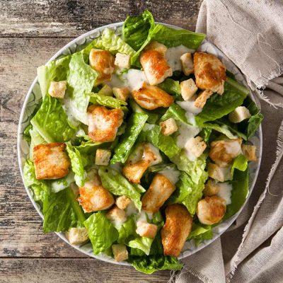 Recette salade cesar