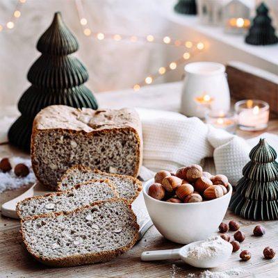 Hazelnut Bread with Buckwheat Recipe