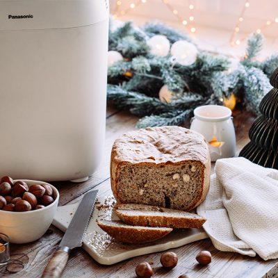 Recette de pain aux noisettes et sarrasin