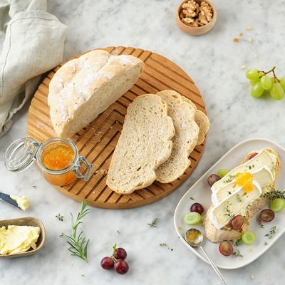 Crusty French Bread with Rosemary and Thyme Recipe