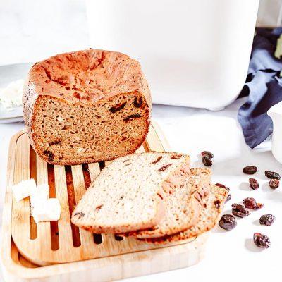 Recette de pain sans gluten aux cranberries et à la feta