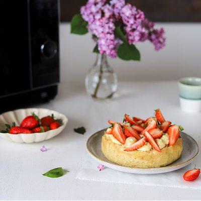 Recette de fraisier revisité et genoise à la vapeur