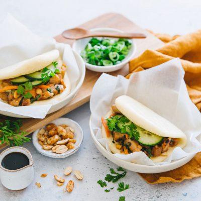Recette de gua bao au poulet
