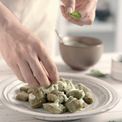 Gnocchi di broccoli senza glutine
