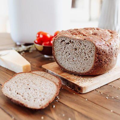 Recette de pain sans gluten parmesan et origan