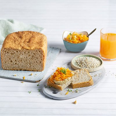 Sourdough Bread with Wheat and Whole Rye Meal Recipe