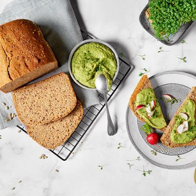 Wholesome Seeded Whole-Wheat Bread Recipe