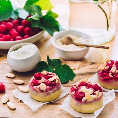 Recette de muffins ricotta-framboises