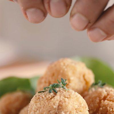 Polpette di patate e salmone